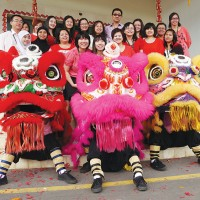 Tawau Chinese New Year Dragon Dance 2013