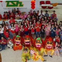 TSH Tawau Lion Dance 2014